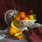 still life in oil